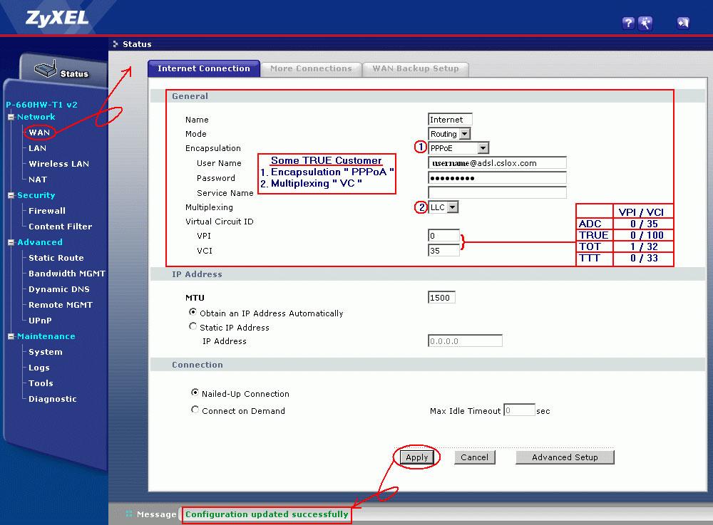 zyxel p 660r d1 manual